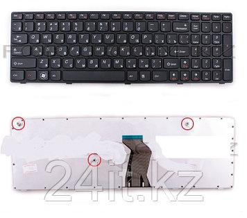 Клавиатура для ноутбука Lenovo IdeaPad V570/ B570, RU, черная