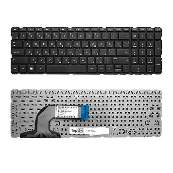 Клавиатура для ноутбука HP Pavilion 15-e series, без рамки, черная