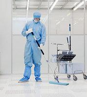 Тележка для уборки  в Чистых помещениях ведерным методом (с отжимом Дуо)