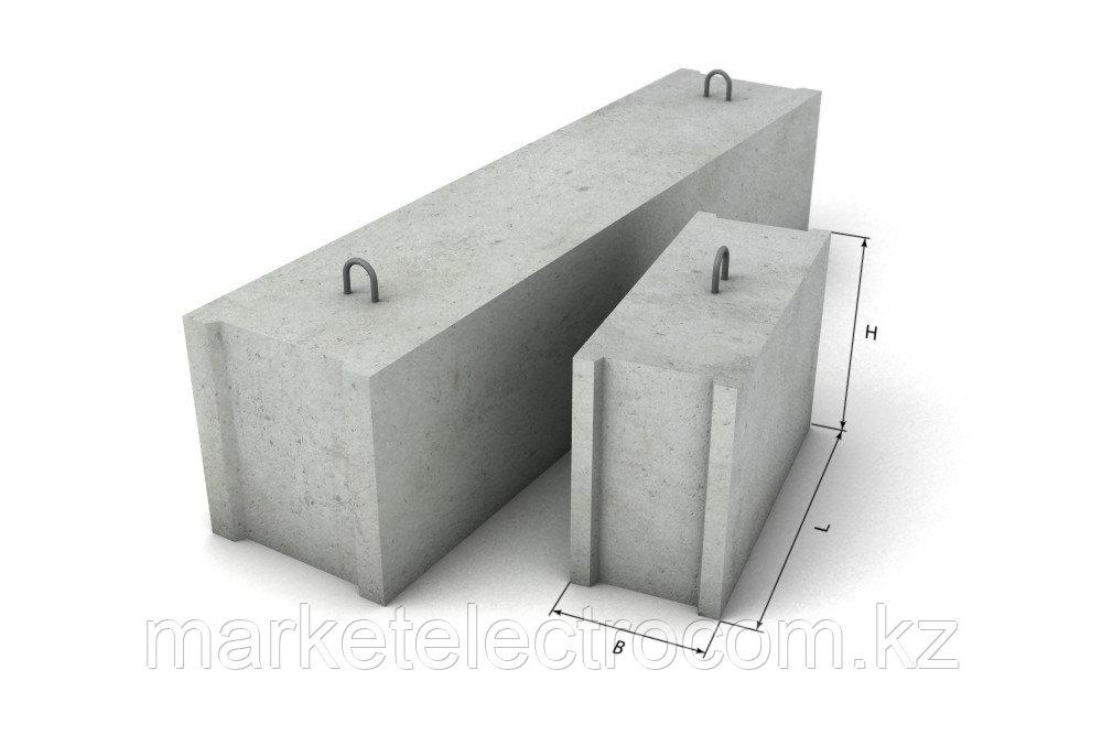 Блоки бетонные для стен подвалов ФБС-24-4-6