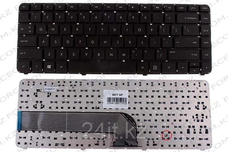 Клавиатура для ноутбука HP Pavilion DV4-5000, ENG, без рамки, черная