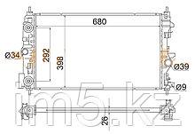 Радиатор  OPEL ASTRA J 10-