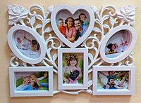 Фоторамка - коллаж на 6 фото, фото 1