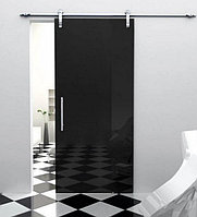 Стеклянные распашные и раздвижные двери