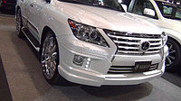 Обвес Double Eight GMG на Lexus LX570 (РЕСТАЙЛИНГ), фото 1
