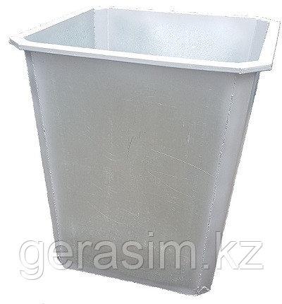 Оцинкованные нержавеющие мусорные контейнеры 750 л (НДС 12% в т.ч.)