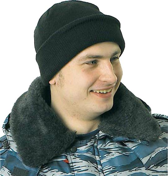 ШАПКА трикотажная зимняя