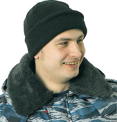 ШАПКА трикотажная зимняя, фото 2