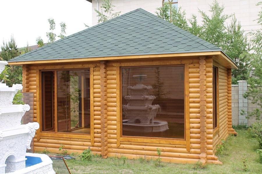 Летний домик из сруба 5,5х5,5м