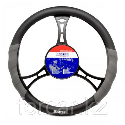 Кожаная оплётка рулевого колеса Racing, фото 2