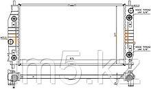 Радиатор  CHRYSLER CONCORDE 98-04