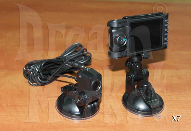 Автомобильный видеорегистратор X7