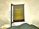 Баннерная растяжка, кронштейн на столб, придорожный указатель, лайтбокс, фото 3