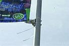 Баннерная растяжка, кронштейн на столб, придорожный указатель, лайтбокс, фото 8