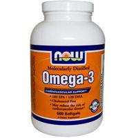 Омега 3 (Omega 3)180 мг. EPA/120 мг. DHA. 500 капсул.