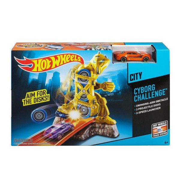 "Hot Wheels ""Схватка с киборгом"""