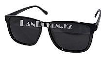 Поляризационные очки солнцезащитные черные (POLAROID)