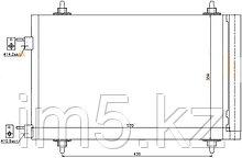 Радиатор кондиционера  CITROEN C4 04-11