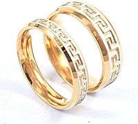 """Парные кольца """"Искрящееся счастье""""*, фото 1"""