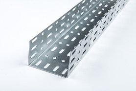 Короба прямые перфорированные оцинкованные КП L=3000мм