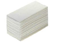 Полотенце бумажные взаимовложенные, двухслойные