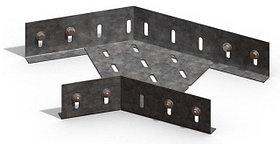 Короба угловые 45 град. горизонтальные перфорированные УК (45гр.)в комплект входят метизы