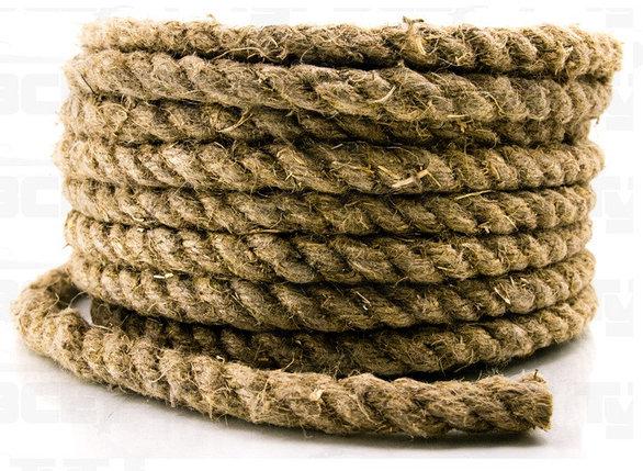 Веревка- пеньковая Д-8, фото 2
