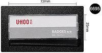 Бедж пластиковый с магнитным креплением, 72х25мм (6695), фото 1
