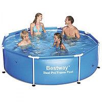 Каркасный бассейн 2.44m х 61cm Bestway  (56045)
