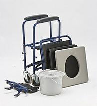 Кресло-каталка с санитарным оснащением Armed H009B, фото 3