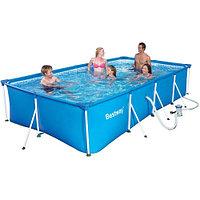Каркасный бассейн Bestway 4.00m х2.11m х 81cm (56082)