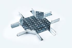 Короба крестообразные перфорированные КК в комплект входят метизы