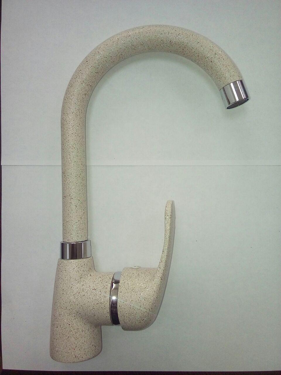 Кухонный смеситель из искусственного камня Gran-Stone GS-4068