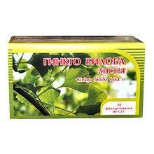 Гинкго билоба+клевер, цветки и трава, 20 фильтр пакетов