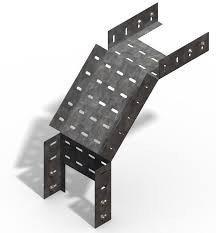 Короба перфорированые угловые для поворота вниз на 90гр. КС (90°) в комплект входят метизы