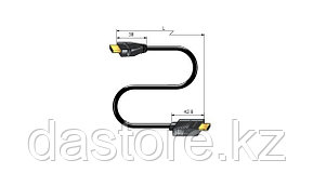 Canare HDM07E-EQ Кабель HDMI, длина 7 м. (700 см), фото 3