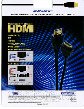 Canare HDM03 Кабель HDMI, длина 3 м. (300 см), фото 2