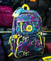 """Рюкзак """"Sunny"""" (желто-синий, с рисунками)"""