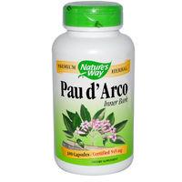 Кора муравьиного дерева (Pau d'Arco ) 545 мг. 180 капсул.