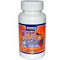 Детские витамины с ягодным вкусом, 120 жевательных пастилок