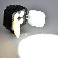 Накамерный прожектор T4 c аккумулятором и зарядным устройством