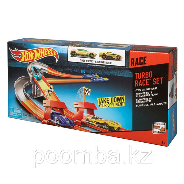 "Трек Hot Wheels ""Супергонки"" 3 в 1"