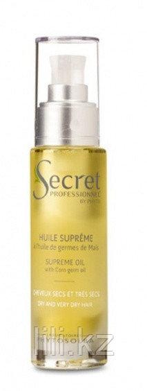 Питательное масло глубокого действия для очень поврежденных волос с маслом кукурузных зерен Huile Supreme