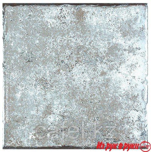 "Глазурованный керамогранит ""Металлик""белый,коричн,серебрист."