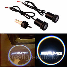 Подсветка из под двери LED с логотипом AMG