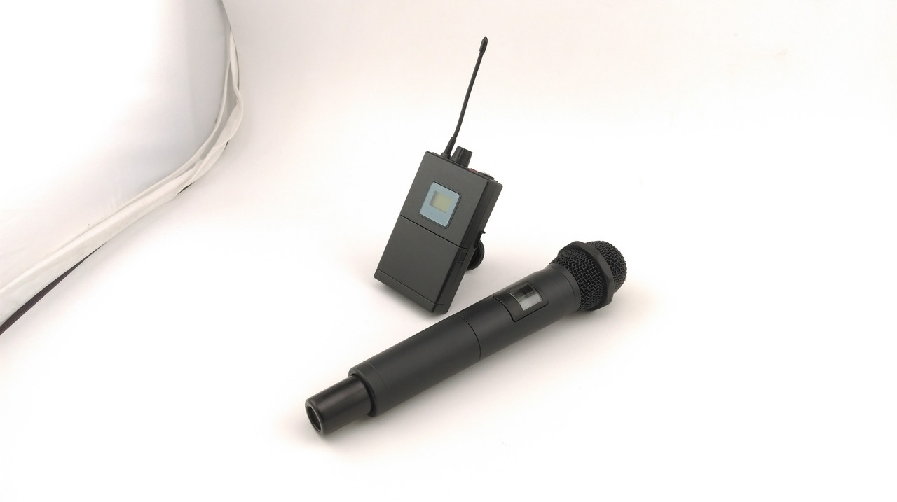 Беспроводной микрофон для интервью 60-100 метров