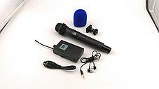 Беспроводной микрофон для интервью 60-100 метров, фото 3