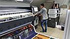Печать на перфорированном баннере, фото 2
