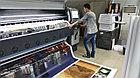 Печать на перфорированном баннере, фото 3
