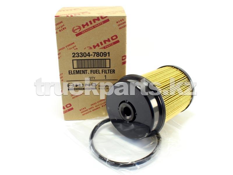 Фильтр топливный №1 HINO 300 E4 оригинал HINO 23304-78091